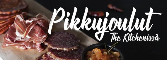 Pikkujoulut - Ravintola The Kitchen Lappeenranta